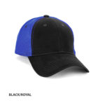 BLACK/ROYAL