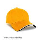 AUSSIE GOLD/WHITE/BLACK