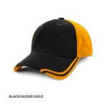 BLACK/AUSSIE GOLD