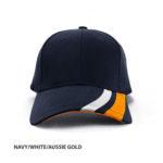 NAVY/WHITE/AUSSIE GOLD