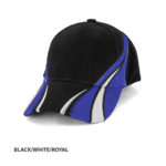 BLACK/WHITE/ROYAL