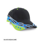 BLACK/AQUA/LIME