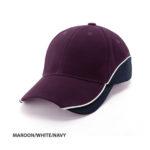 MAROON/WHITE/NAVY