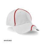 WHITE/RED