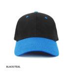 BLACK/TEAL