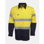 SAFETY YELLOW/NAVY